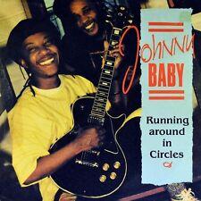 """7"""" JOHNNY BABY Running Around In Circles JOHN BURKETT 45rpm VIRGIN Reggae D 1989"""