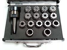 ER40 Collet Set - 15 Piece MT4 Metric