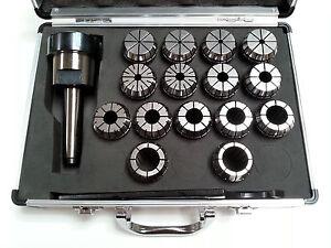 ER40 Collet Set - 15 Piece MT3 Metric