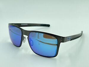 Oakley Holbrook Metal OO4123-07 Mens Sunglasses Silver DAMAGED LENSES