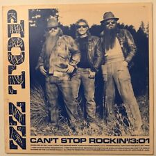 ZZ Top - Can't Stop Rockin - 1985 - Vinyl Record LP - PROMO COPY