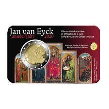 Belgie 2020 II 2 Euro BU ( Franse Versie ) Jan van Eyck