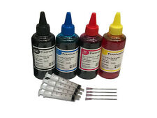 4 x 100ml EDIBLE INK FOR USE IN CANON PRINTER