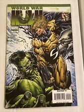 World War Hulk #5 Finch 1st full Skaar in Marvel Universe Nm She-Hulk Disney+