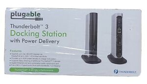 Plugable Thunderbolt 3 Docking Station with Power Delivery TBT3-UDV