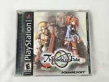 Threads of Fate Complete PS1 Playstation Game Black Label