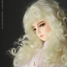 "Dollmore  1/3BJD OOAK Supplier SD wig (8-9)"" Monghanjuc Mohair (Blonde)"