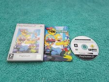 The Simpsons hit and & run ps2,complete with booklet like new overall,free post