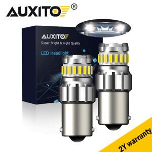 AUXITO 1156 BA15S P21W LED Car Tail Brake Reverse Signal Light Lamp Bulbs 1200LM