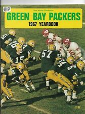 GREEN BAY PACKERS 1967 YEARBOOK EXCELLENT CONDITION - BART STARR COVER