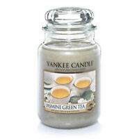 ☆☆JASMINE GREEN TEA☆☆ LARGE YANKEE CANDLE JAR 22OZ. ☆☆ FREE SHIPPING☆☆