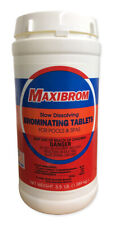 New listing  Maxibrom 3.5 Lbs. Slow Dissolving Bromine Mini Tablets For Hot Tubs & Spas