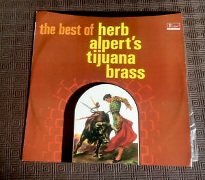 """HERB ALPERT'S TIJUANA BRASS THE BEST OF""1966 VINYL V/G LP BLUE LABEL FESTIVAL"