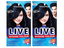 2x Schwarzkopf Live Permanent Intense Colour 90 Cosmic Blue