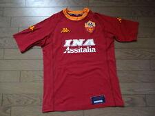 Limited Edition AS Roma #8 Nakata 100% Original Jersey Shirt M 2000/01 MINT
