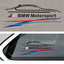 1 Pcs Black M Sports Window Oil Tank Badge Decal Sticker Fits For BMW All Series