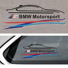 1 Pcs Black M Sports Window Oil Tank Badge Decal Sticker Fits For BMW All Series