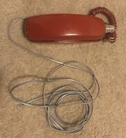 VINTAGE WESTERN ELECTRIC DARK RED TELEPHONE