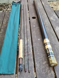 ORVIS WESTERN 10FT #7 TROUT FLY ROD GOOD CONDITION WITH BAG & TUBE