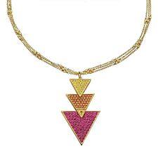 Guess Jewelery Woman Necklace Damen Halskette 3 Dreiecke UBN71334