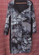 TS TAKING SHAPE Size S (Approx 16-18) Button Down Front Stretch Top 3/4 Sleeves