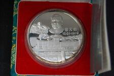China 10 Yuan Panda, 1991, Eisenbahn 1 Unze Silber, PP