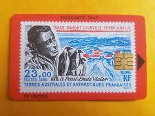Télécarte Taaf n° 10 - Paul Emile Victor Base Dumont d'Urville Terre Adélie