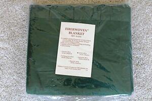 Chatham FIBERWOVEN Acrylic Green Blanket FULL Size 80 x 90 - SEALED NEW