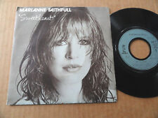 "DISQUE 45T DE MARIANNE FAITHFULL  "" SWEETHEART """