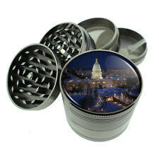 Washington D.C. D2 Titanium Grinder 4 Piece Magnetic Hand Mueller Monuments