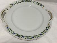 Bassett Limoges Austria, Small Platter, Early 1900's Antique Porcelain