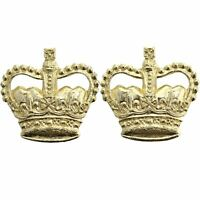Staybrite Officers Staybright Epaulette Insignia Anodised Rank Crown Pips - TD68