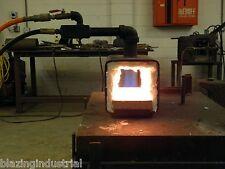 Lil' Blazer 100 Air Propane combo Forge Furnace Blacksmith Knives, Metalworking.