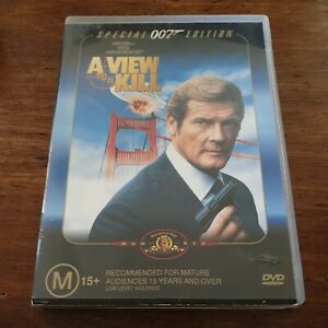 A View to Kill 007 DVD R4 Like New! FREE POST