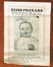 ZEISS PROXAR SALES BROCHURE/64493