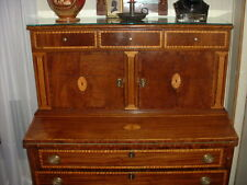Rare Newberyport Federal Broken Column Blind Door Secretary (1780's)