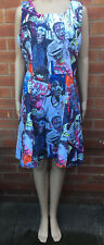 Stand Out Zombie Print Dress New Size Medium