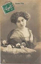 Carte postale fantaisie ancienne carte bonne  fête   No 4