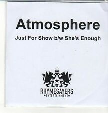 (CZ831) Atmosphere, Just For Show - 2011 DJ CD