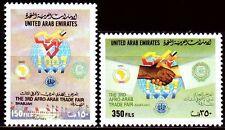 UAE 1997 ** Mi.569/70 Handelsmesse Trade Fair