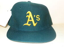OAKLAND ATHLETICS A'S MLB NEW ERA 59/50 FITTED JERSEY BASEBALL HAT CAP 6 5/8 GRE
