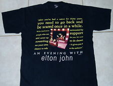Elton John Concert Tour T Shirt (L / Xl) Mens Large eagles fleetwood mac boston