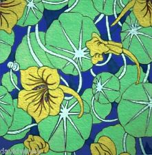 Funky Lilly Pads and Flowers pattern 12 x 12 inch mono deluxe Needlepoint Canvas