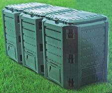 300l KOMPOSTER Bio-M/üll-Konverter. Komposttonne f/ür den Garten umweltfreundlich