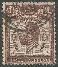Historical Events Used British George V Stamps