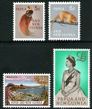 Papua New Guinea 1963 Pictorial Definitives set of 4 Mint Hinged