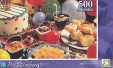 NEW Puzzlebug 500 Piece Jigsaw Puzzle ~ Birthday Party! ~ FREE SHIPPING