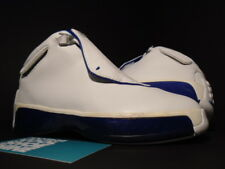 KIDS 2003 NIKE AIR JORDAN XVIII 18 PS WHITE SILVER SPORT ROYAL BLUE BLACK 12C 12