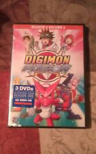 Digimon Fusion: Season 1 - Volume 1 (DVD, 2015, 3-Disc Set) Brand New Sealed