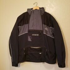 The North Face Steep Tech Mens Ski Jacket Black Grey Size 2XL XXL